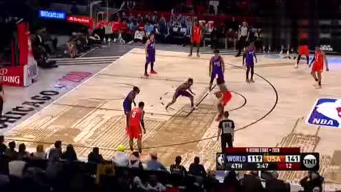 2020年NBA全明星赛 世界联队VS美国队 全场录像回放视频