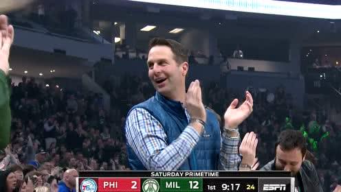 2020年02月23日NBA常规赛 76人VS雄鹿 全场录像回放视频