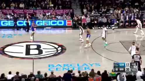 2020年02月06日NBA常规赛 勇士VS篮网 全场录像回放视频