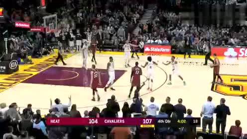 2020年02月25日NBA常规赛 热火VS骑士 全场录像回放视频
