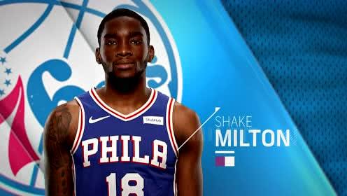2020年02月25日NBA常规赛 老鹰VS76人 全场录像回放视频