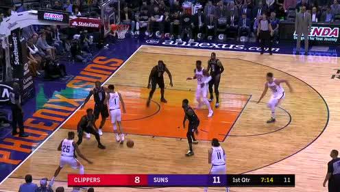 2020年02月27日NBA常规赛 快船VS太阳 全场录像回放视频
