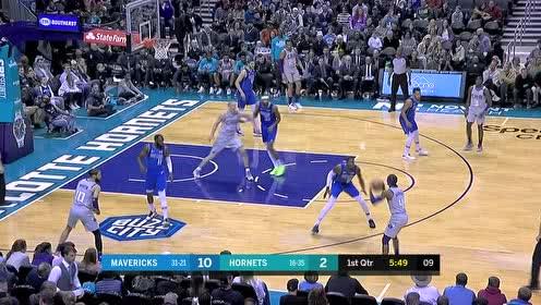 2020年02月09日NBA常规赛 独行侠VS黄蜂 全场录像回放视频