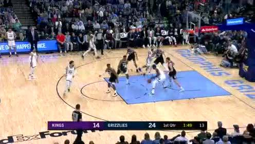 2020年02月29日NBA常规赛 国王VS灰熊 全场录像回放视频