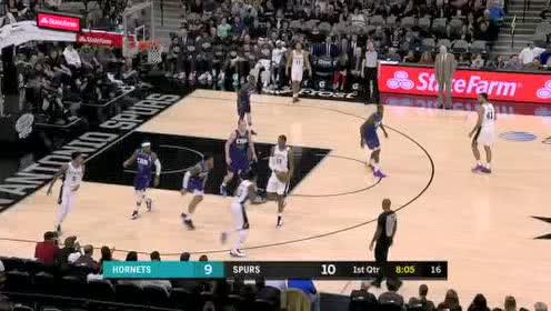 2020年02月02日NBA常规赛 黄蜂VS马刺 全场录像回放视频