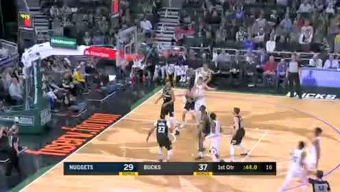 2020年02月01日NBA常规赛 掘金VS雄鹿 全场录像回放视频
