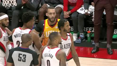2020年02月02日NBA常规赛 爵士VS开拓者 全场录像回放视频