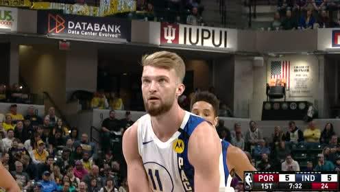 2020年02月28日NBA常规赛 开拓者VS步行者 全场录像回放视频
