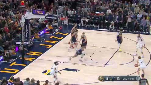 2020年02月06日NBA常规赛 掘金VS爵士 全场录像回放视频