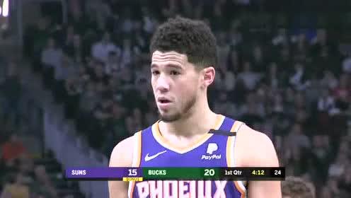 2020年02月03日NBA常规赛 太阳VS雄鹿 全场录像回放视频
