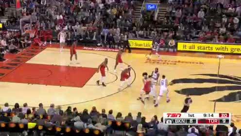 2020年02月09日NBA常规赛 篮网VS猛龙 全场录像回放视频