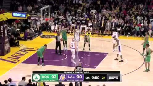 2020年02月24日NBA常规赛 凯尔特人VS湖人 全场录像回放视频