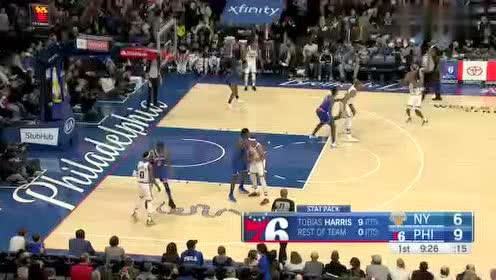 2020年02月28日NBA常规赛 尼克斯VS76人 全场录像回放视频
