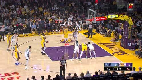 2020年02月22日NBA常规赛 灰熊VS湖人 全场录像回放视频