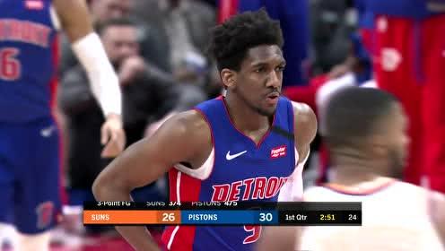 2020年02月06日NBA常规赛 太阳VS活塞 全场录像回放视频