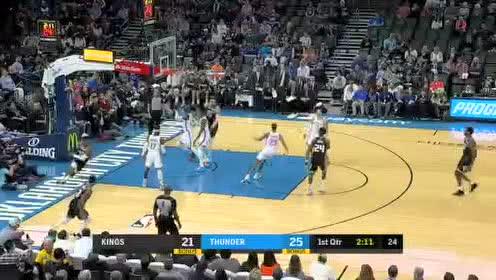 2020年02月28日NBA常规赛 国王VS雷霆 全场录像回放视频