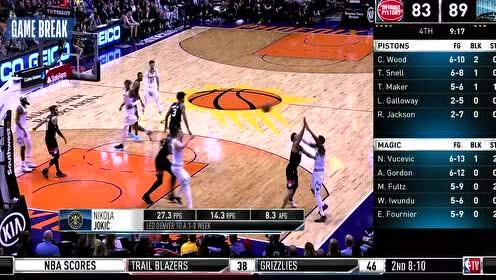 2020年02月13日NBA常规赛 国王VS独行侠 全场录像回放视频