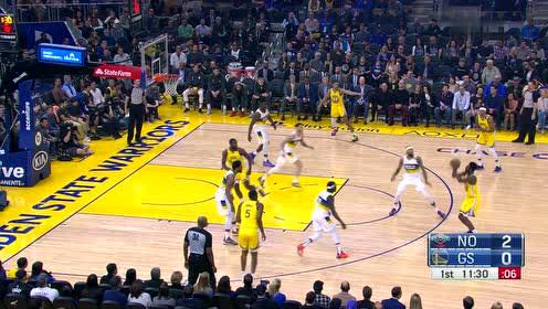 2020年02月24日NBA常规赛 鹈鹕VS勇士 全场录像回放视频