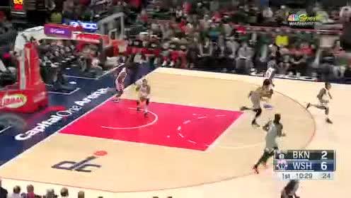 2020年02月27日NBA常规赛 篮网VS奇才 全场录像回放视频
