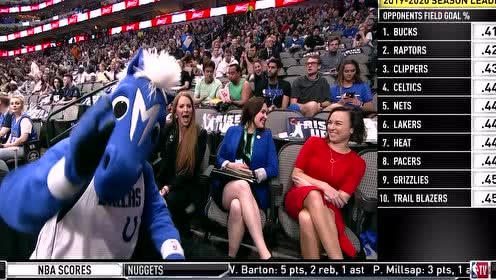 2020年03月12日NBA常规赛 掘金VS独行侠 全场录像回放视频