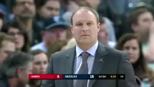 2020年03月08日NBA常规赛 老鹰VS灰熊 全场录像回放视频