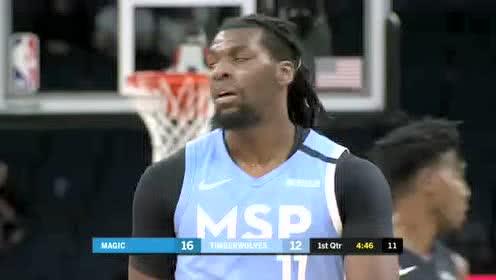2020年03月07日NBA常规赛 魔术VS森林狼 全场录像回放视频