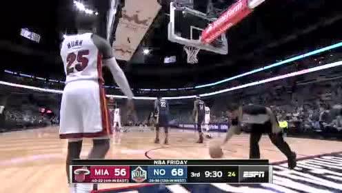 2020年03月07日NBA常规赛 热火VS鹈鹕 全场录像回放视频