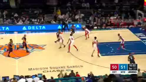 2020年03月09日NBA常规赛 活塞VS尼克斯 全场录像回放视频