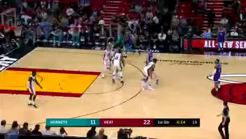 2020年03月12日NBA常规赛 黄蜂VS热火 全场录像回放视频