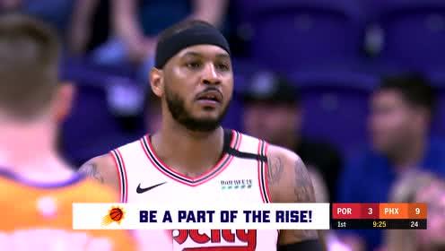2020年03月07日NBA常规赛 开拓者VS太阳 全场录像回放视频