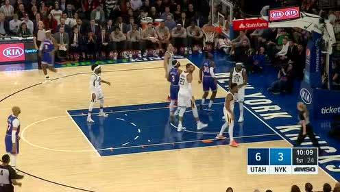2020年03月05日NBA常规赛 爵士VS尼克斯 全场录像回放视频