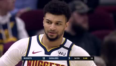 2020年03月08日NBA常规赛 掘金VS骑士 全场录像回放视频