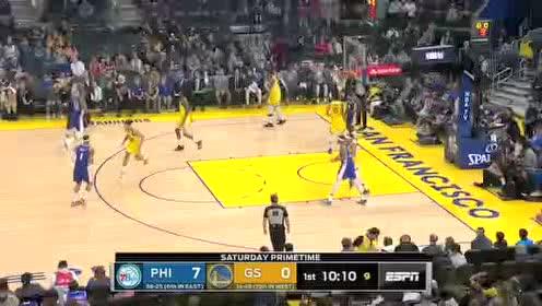 2020年03月08日NBA常规赛 76人VS勇士 全场录像回放视频