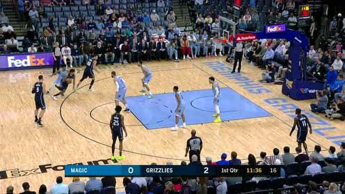 2020年03月11日NBA常规赛 魔术VS灰熊 全场录像回放视频