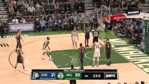 2020年03月05日NBA常规赛 步行者VS雄鹿 全场录像回放视频