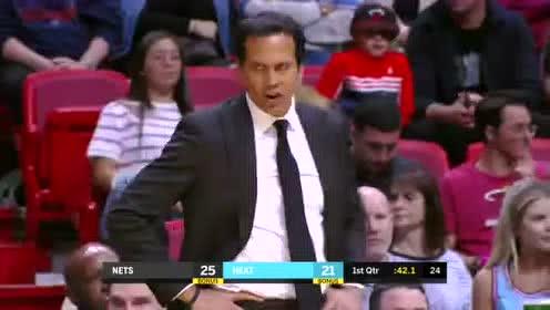 2020年03月01日NBA常规赛 篮网VS热火 全场录像回放视频