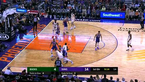 2020年03月09日NBA常规赛 雄鹿VS太阳 全场录像回放视频