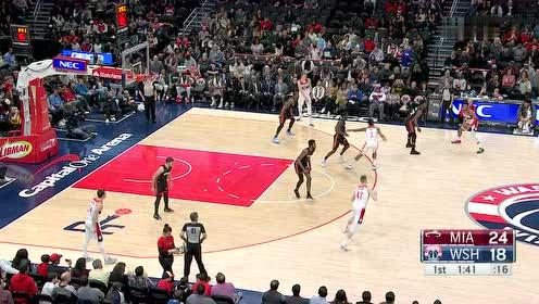 2020年03月09日NBA常规赛 热火VS奇才 全场录像回放视频