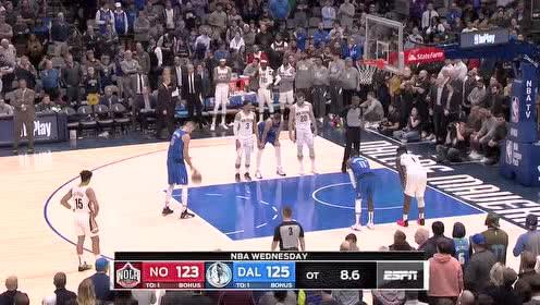 2020年03月05日NBA常规赛 鹈鹕VS独行侠 全场录像回放视频