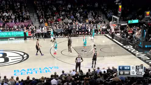 2020年03月05日NBA常规赛 灰熊VS篮网 全场录像回放视频