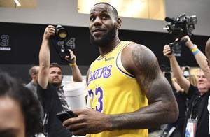 詹皇决定四在路上,NBA名记称4年后他或离开湖人,拯救第一大鱼腩